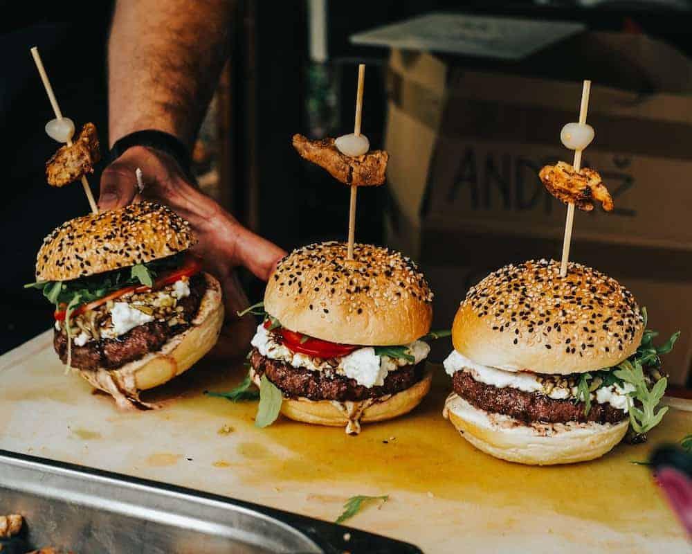 Halal burgers in Singapore