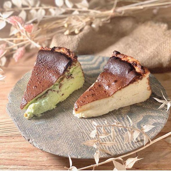 Basque Burnt Cheesecakes GRUB