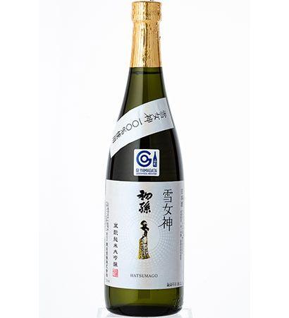Hatsumago Yukimegami Junmai Daigingo Shake Rice